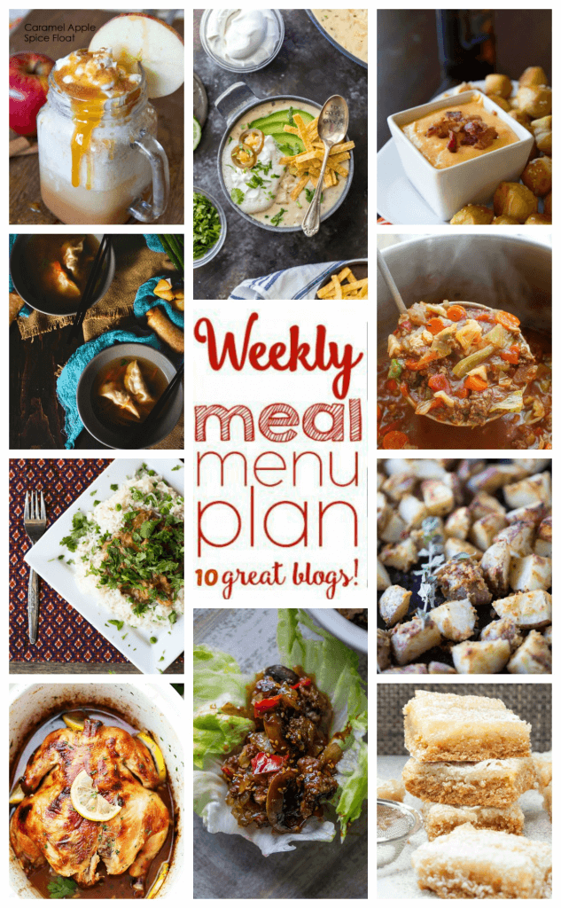 Week 67 Meal Plan photo collage