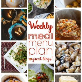 WEEKLY MEAL PLAN (WEEK 67)