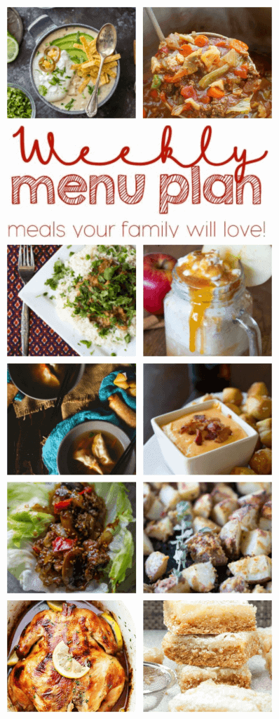 Pinterest Collage for Week 67 Meal Plan