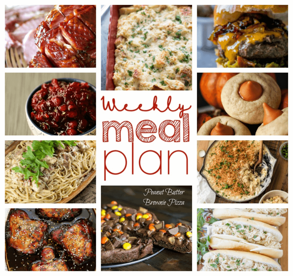 Square collage for Week 68 Meal Plan