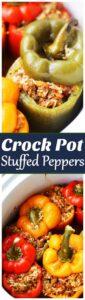 Crockpot Stuffed Peppers Recipe