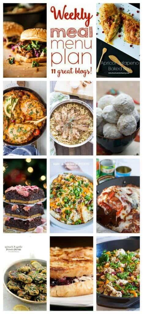 Week 72 Meal Plan collage