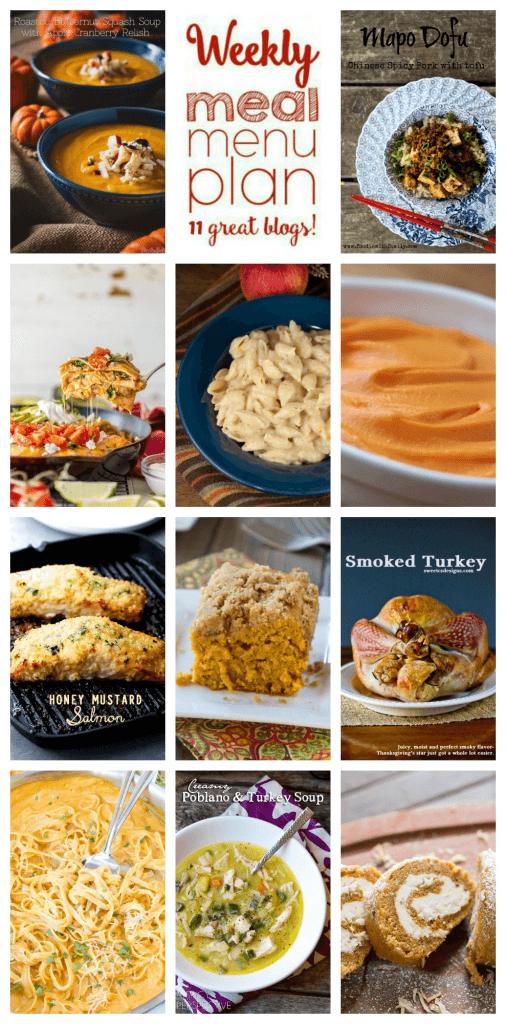 Week 71 Meal Plan collage