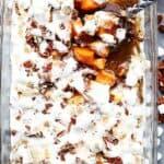 Orange & Pecans Sweet Potato Casserole | Easy Thanksgiving Side Dish