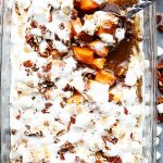 Orange and Pecans Sweet Potato Casserole