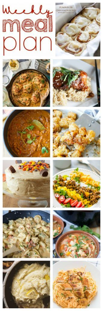 Pinterest Collage for Week 69 Meal Plan