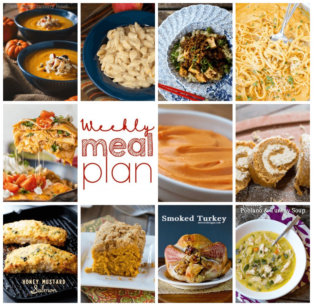 Square collage for Week 71 Meal Plan