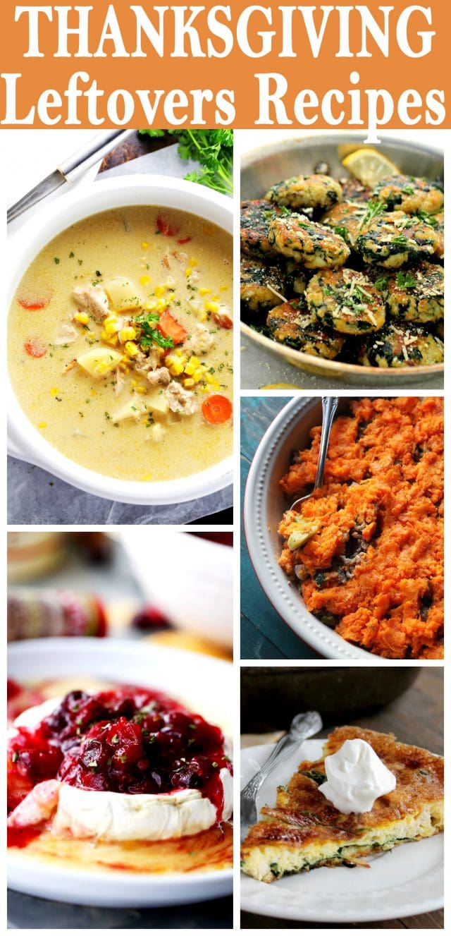 Thanksgiving Leftovers Recipes - Transform your Thanksgiving Leftovers into a delicious pasta dinner, soup, appetizer, or just a snack!