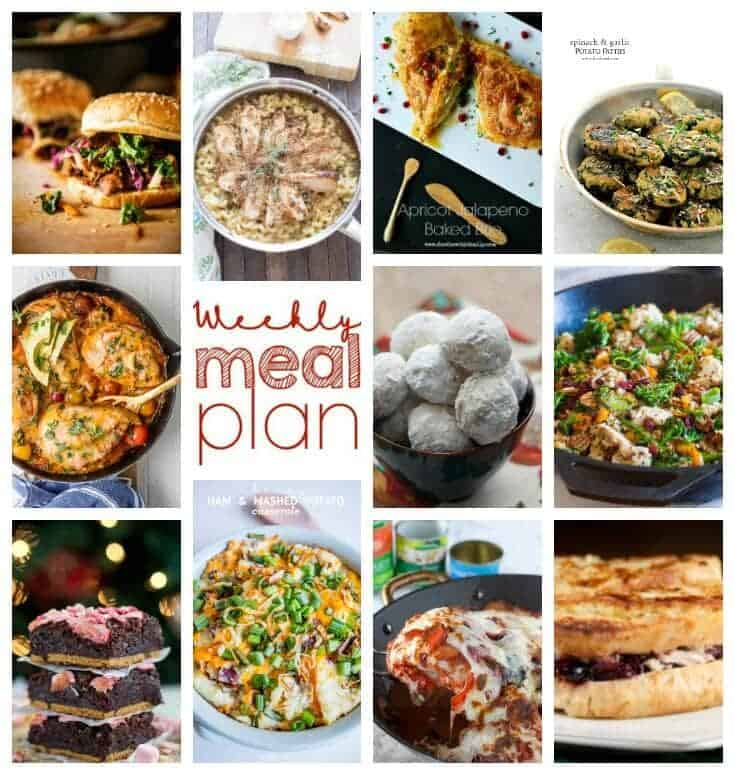 Square Collage for Week 72 Meal Plan