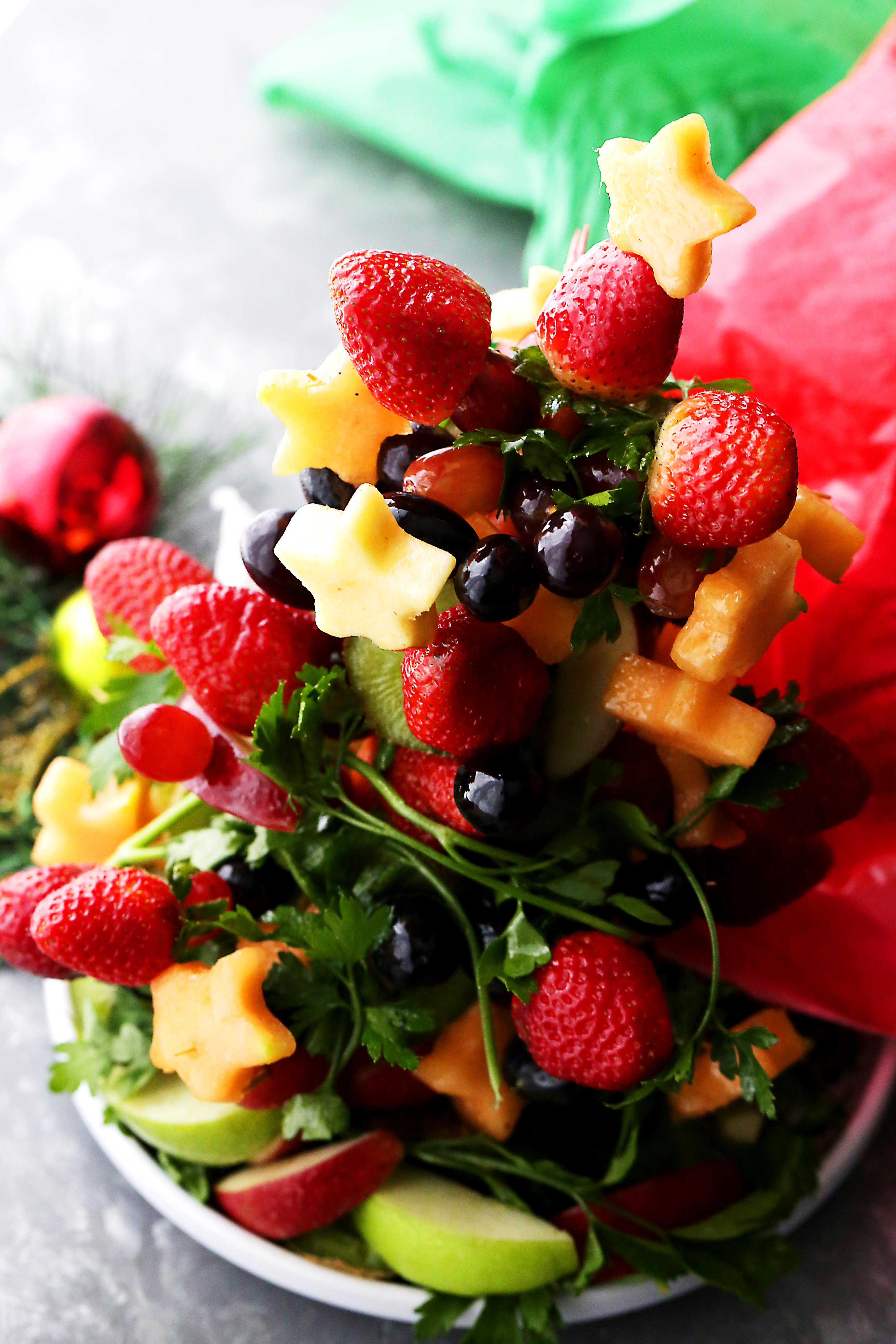 Fruit Christmas Tree Diethood