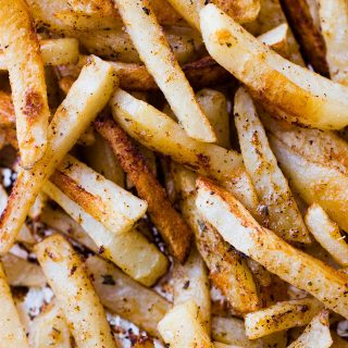 Oven Baked Seasoned French Fries