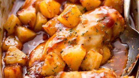 Pineapple Barbecue Chicken Recipe Easy Tasty Chicken Breast Recipe
