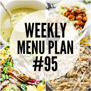 WEEKLY MENU PLAN (#95)