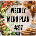 WEEKLY MENU PLAN (#97)