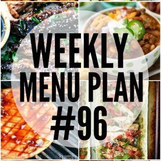 WEEKLY MENU PLAN (#96)