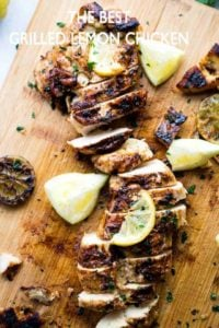 The BEST Grilled Lemon Chicken | How to Grill Chicken (Easy Recipe!)