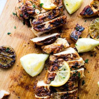 The Best Grilled Lemon Chicken Recipe