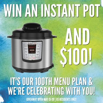 Instant Pot Giveaway advertisement