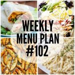 WEEKLY MENU PLAN (#102)