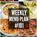 WEEKLY MENU PLAN (#101)