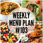 WEEKLY MENU PLAN (#103)