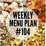 WEEKLY MENU PLAN (#104)