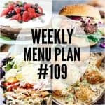 WEEKLY MENU PLAN (#109)