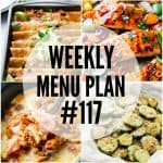WEEKLY MENU PLAN (#117)