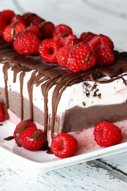 Frozen-Layered-Gelato-Cake