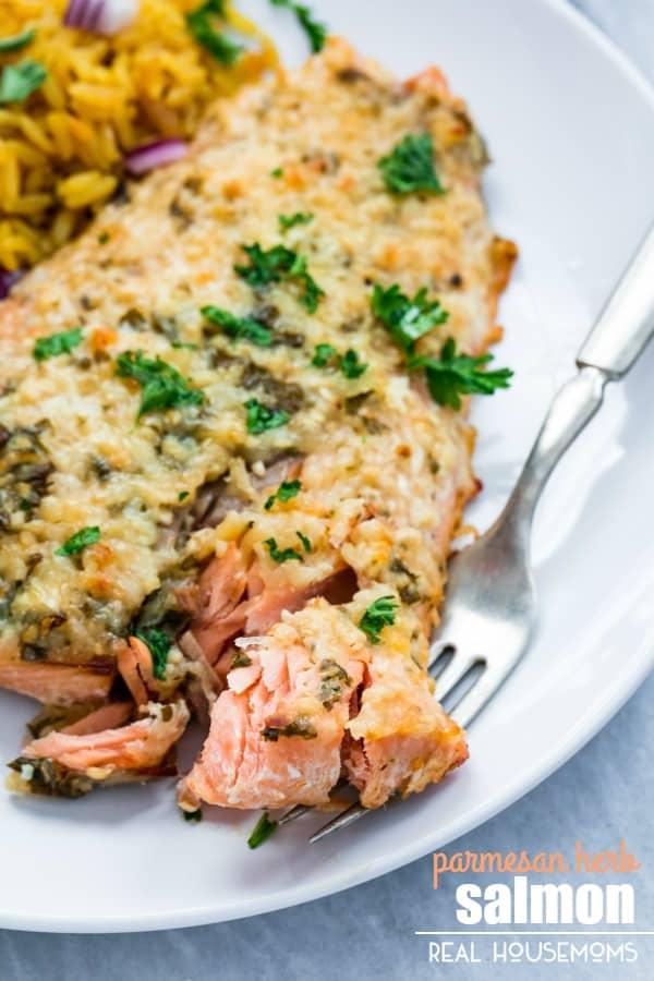 Parmesan-Herb-Salmon