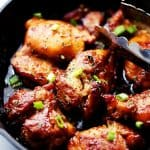 Spicy, Sweet and Sticky Chicken Thighs Recipe