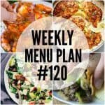 WEEKLY MENU PLAN (#120)