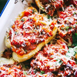 Bolognese Stuffed Peppers Recipe
