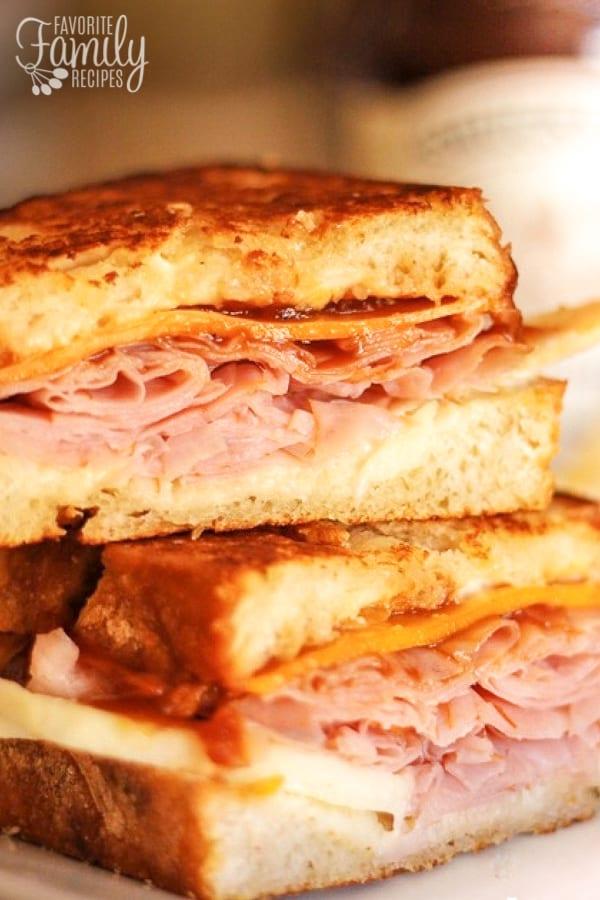 Apple-Ham-and-Cheddar-Melt-Sandwiches