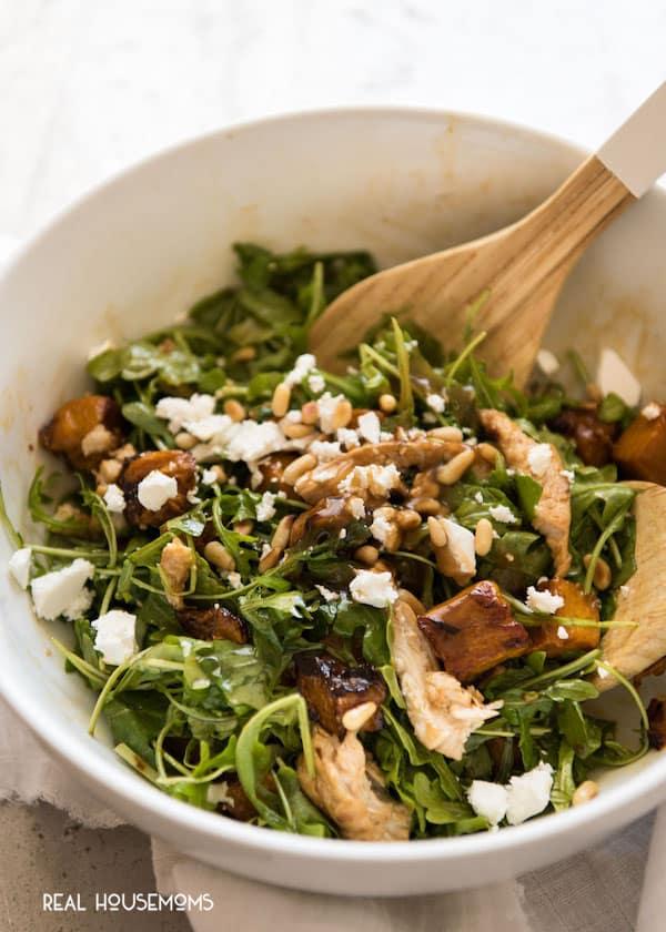 Balsamic Pumpkin Chicken Salad