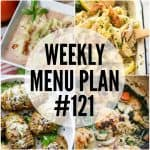 WEEKLY MENU PLAN (#121)