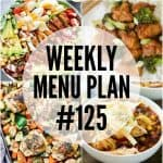 WEEKLY MENU PLAN (#125)