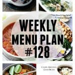 WEEKLY MENU PLAN (#128)