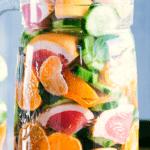 spa detox water sharing image
