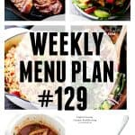 WEEKLY MENU PLAN (#129)