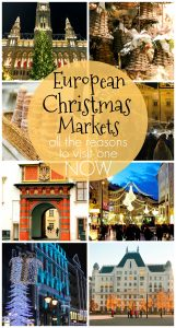European Christmas Markets -When it comes to Christmas markets, Europe does it best! Get into the spirit with a trip to one of these festive and whimsical European cities.