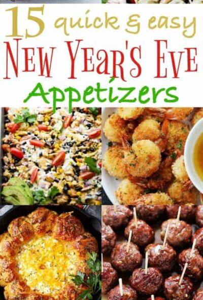 New Years Appetizer Recipes