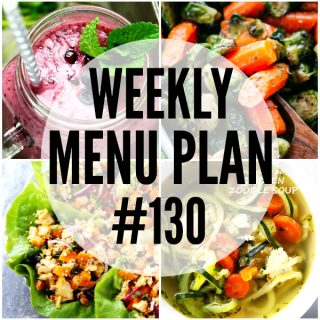 WEEKLY MENU PLAN (#130)