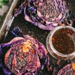 Balsamic Roasted Cabbage Steaks Recipe | How to Roast Cabbage