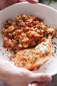 Slow Cooker Chicken & Rice | Easy Crock Pot Recipe + Dinner Idea!
