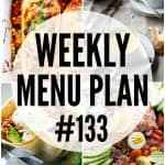 WEEKLY MENU PLAN (#133)