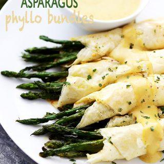 Asparagus Phyllo Bundles Recipe