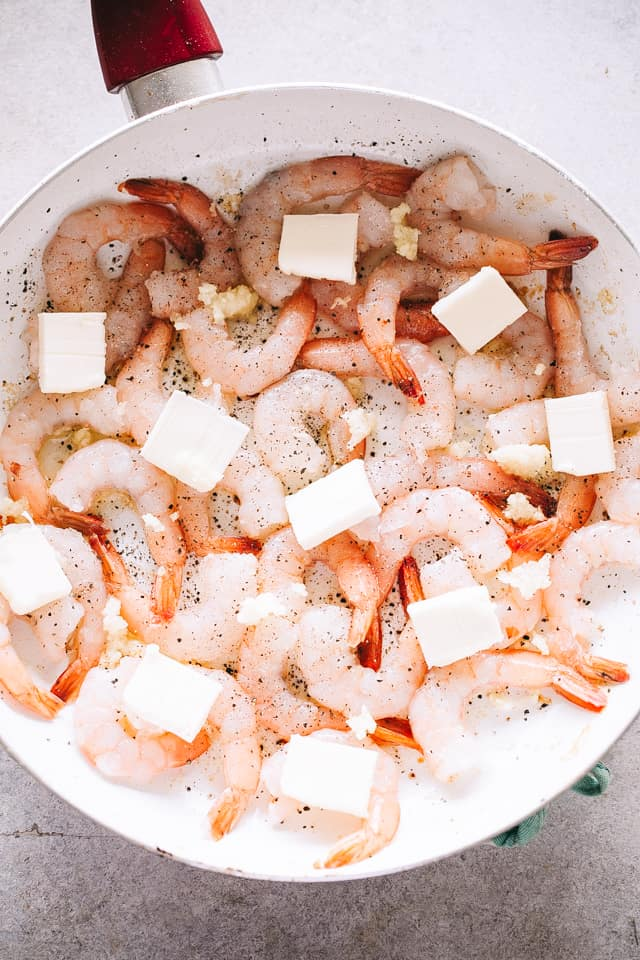 skillet cooked shrimp