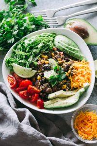 instant pot burrito bowls, ground turkey, burritos