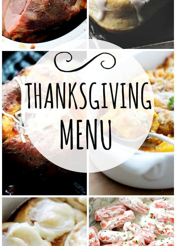 My Thanksgiving Menu -Turn your Thanksgiving menu into a feast that's both traditional and tasty with our perfect recipes for a wonderful holiday spread.